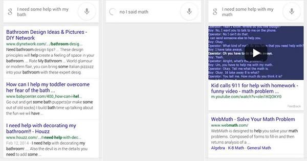 Google introduce oggi la possibilità di correggere gli errori di dettatura commessi nelle ricerche vocali