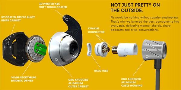 Normal, le cuffie in-ear personalizzate e stampate in 3D