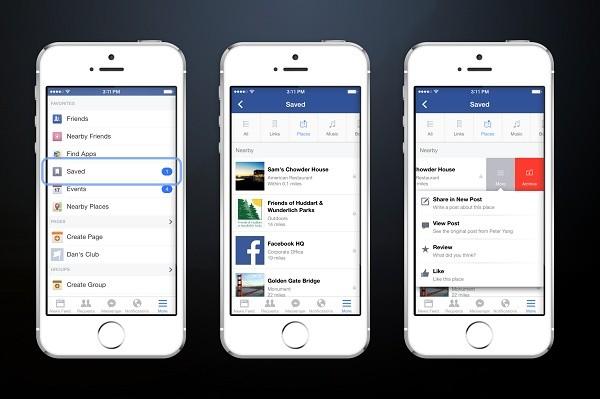 Facebook funzione salva
