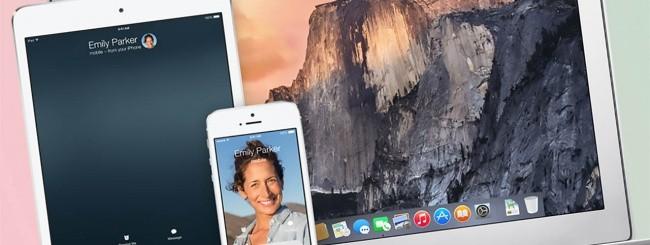 iOS 8 e OS X Yosemite