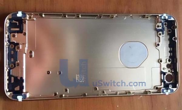 iPhone 6, logo intagliato