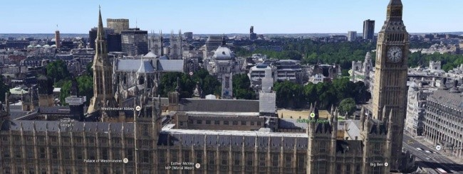 Londra in 3D su Google Maps
