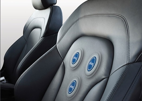 Un prototipo di sedile per automobile in grado di monitorare il battito cardiaco del conducente