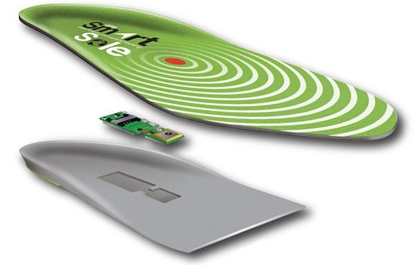 GPS SmartSoles: la suola per le scarpe con modulo per la geolocalizzazione integrato