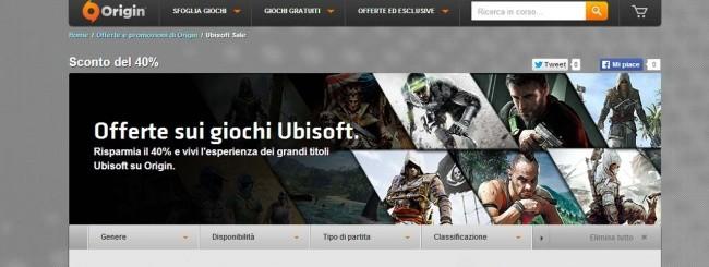 Giochi Ubisoft su Origin