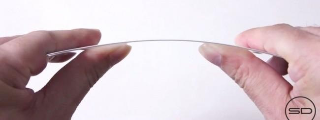 iPhone 6, vetro flessibile