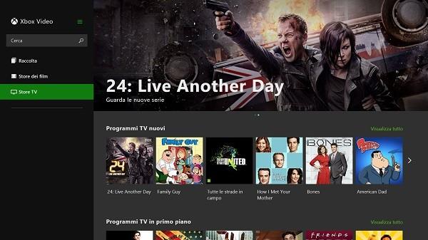 Xbox Video per Windows 8.1