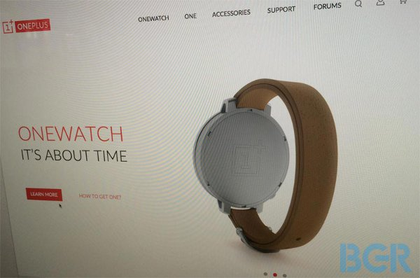 Lo smartwatch OnePlus trapelato in anteprima