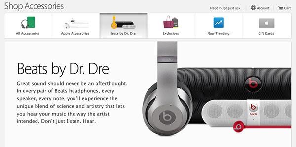 Beats su Apple Store