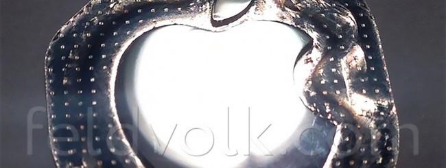 Logo Mela, scocca di iPhone 6