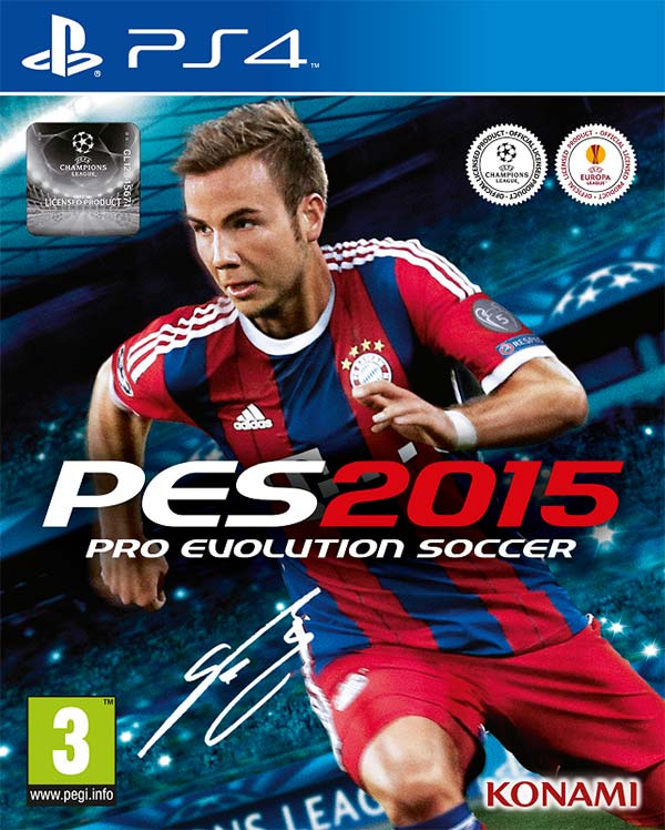 Mario Götze è stato scelto da Konami per la copertina di Pro Evolution Soccer 2015