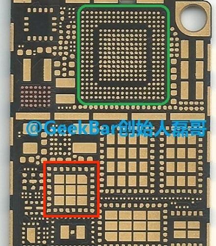 Scheda logica di iPhone 6