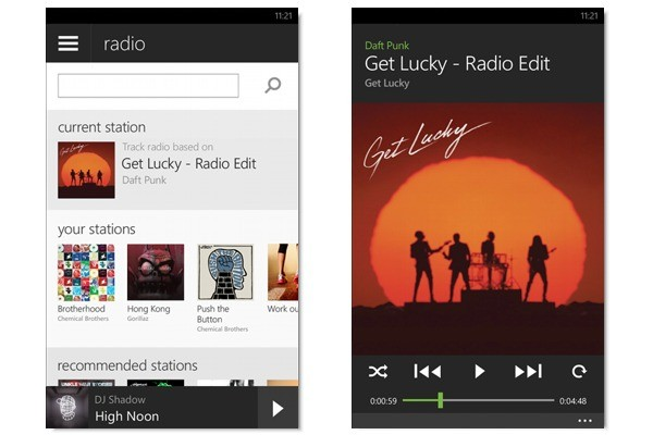 Spotify per Windows Phone