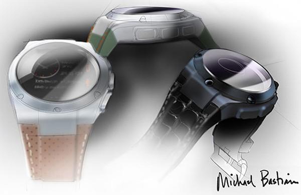 Ecco come sarà lo smartwatch di HP, il cui design è stato affidato all'americano Michael Bastian