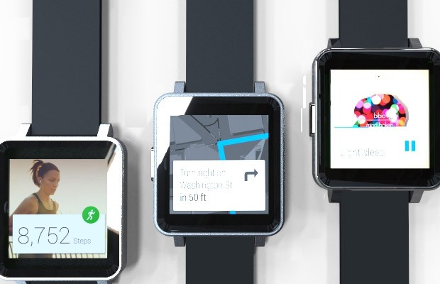 COM1, Project Crowdsourcing Indiegogo Smartwatch Android Wear