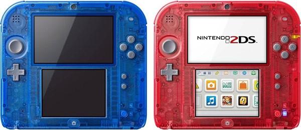 Le nuove versioni trasparenti del Nintendo 2DS