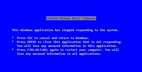 BSOD in Windows 3.1