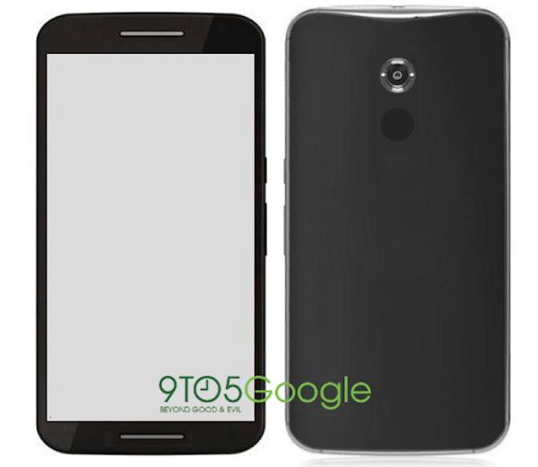 l design del Motorola Shamu, nome in codice del Google Nexus 6