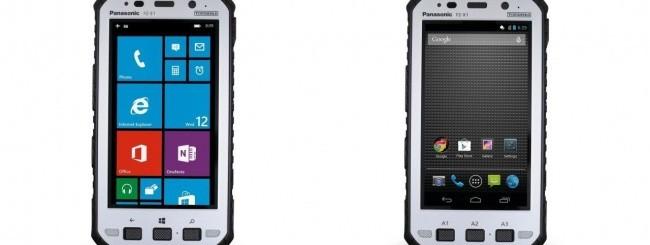 Panasonic Toughpad FZ-E1 e FZ-X1