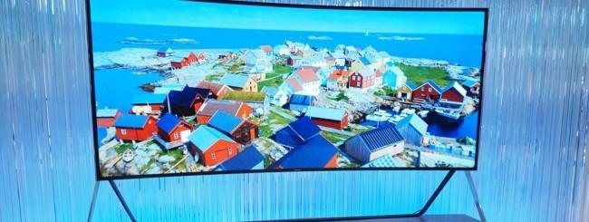 Samsung TV UHD pieghevole