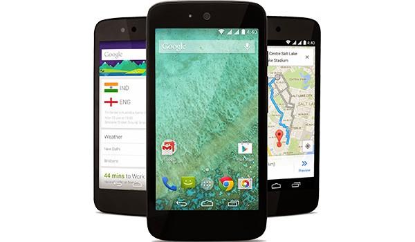I primi tre smartphone del programma Android One: Karbonn Sparkle V, Micromax Canvas A1 e Spice Dream Uno