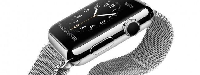 Apple Watch con maglia milanese
