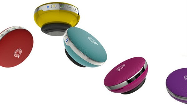 Lo speaker Bluetooth che sfida la forza di gravità, prodotto dall'azienda taiwanese ASWY e presentato all'IFA 2014 di Berlino