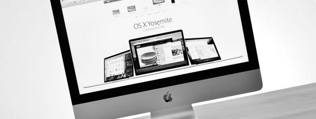 iMac con Yosemite