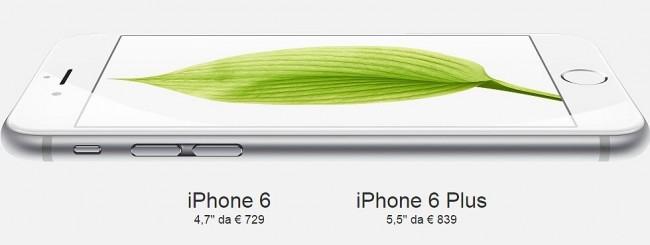iPhone 6 in Italia
