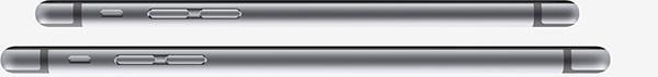 Sottigliezza di iPhone 6