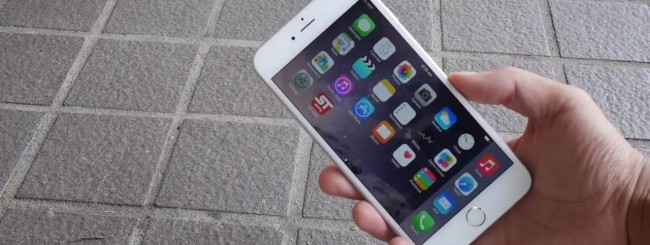 iPhone 6, drop test