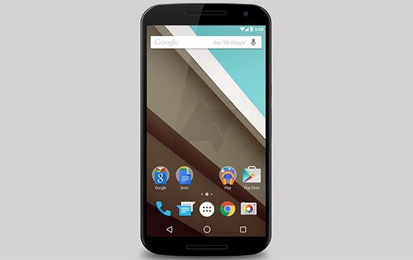 Un rendere di Nexus 6, nuovo smartphone realizzato da Google