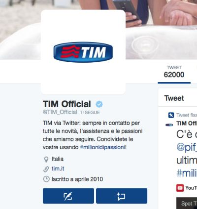 Nuovo layout twitter.com