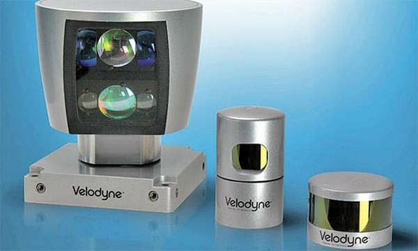 I sensori di Velodyne per le self-driving car