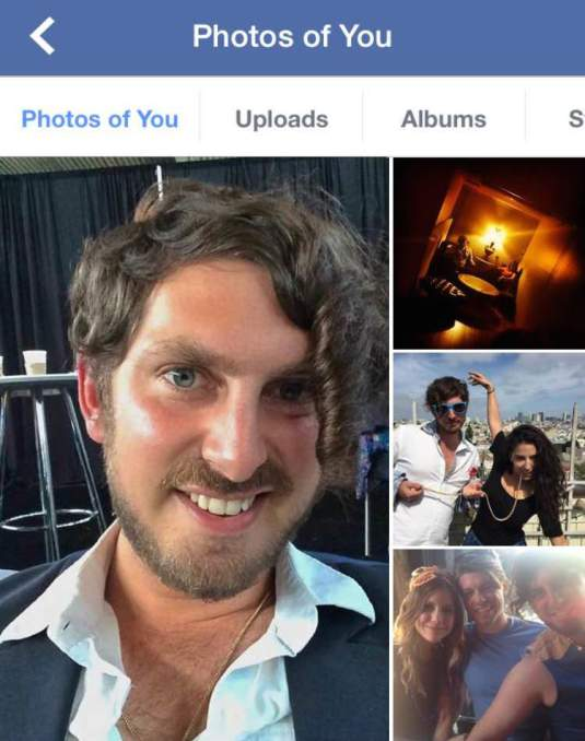 """Il collage evidenzia la foto che ha ricevuto più """"Mi piace""""."""