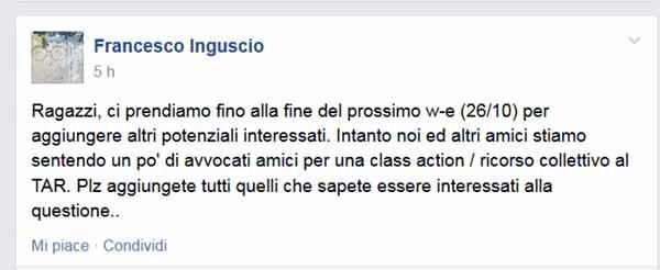 INguscio class action