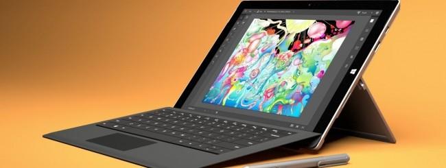 Illustrator CC su Surface Pro 3