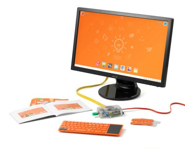 PC Kano con tastiera Bluetooth