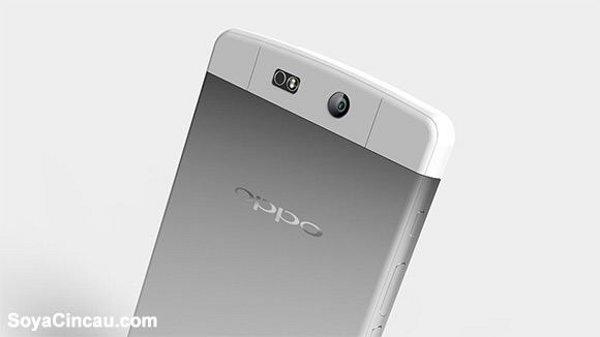 Render nuovo smartphone Oppo