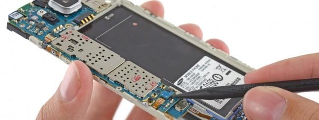 Samsung Galaxy Alpha smontato