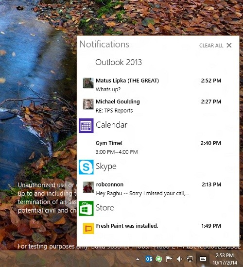 Windows 10 Techinical Preview build 9860