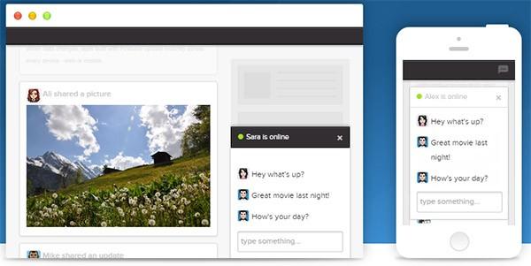 Le API di Firebase permettono di sincronizzare in tempo reale le informazioni gestite dalle app sul Web e sui dispositivi mobile