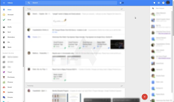 L'interfaccia di Google Bigtop