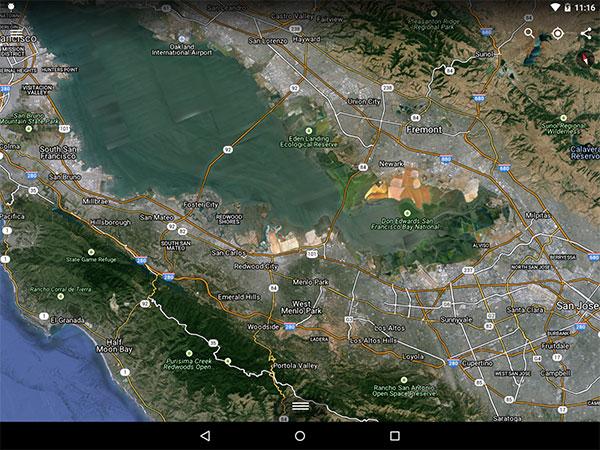 L'aggiornamento di Google Earth su Android migliora la visualizzazione delle etichette e dei nomi delle strade