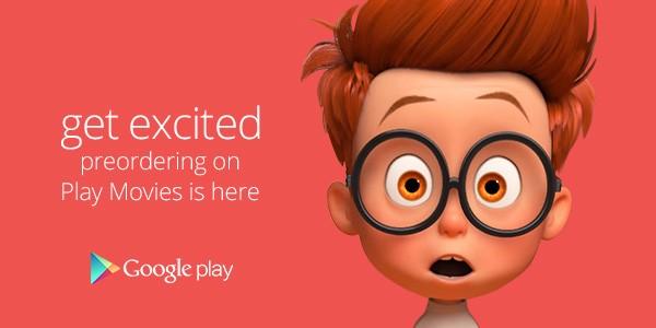 A partire da oggi, al momento in esclusiva negli Stati Uniti, è possibile effettuare il pre-ordine dei film in arrivo su Google Play