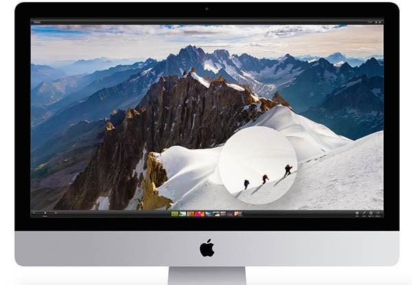iMac 5K, design