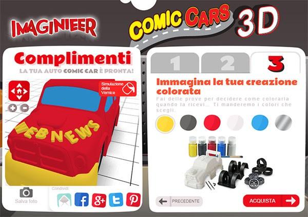 L'editor online di Imaginarium Imaginieer per la creazione dei giocattoli da stampare in 3D