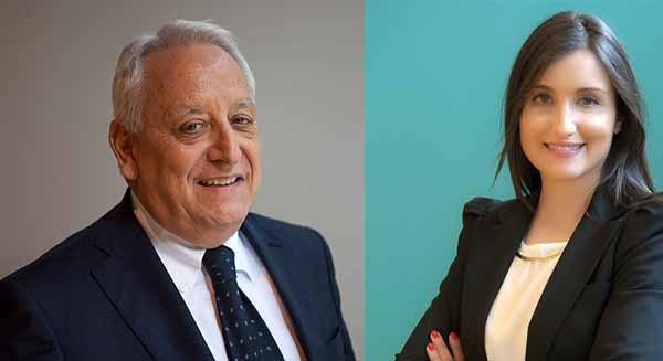 Roberto Liscia e Virginia Hernandéz: il presidente di Netcomm e la founder di Privè hanno ideato