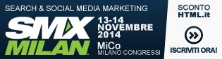 SMX Milan 2014: sconto speciale