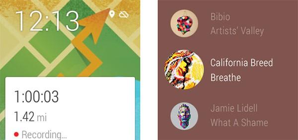 Le nuove funzionalità GPS e per l'ascolto della musica introdotte da Android Wear